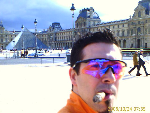 davidoff at the louvre